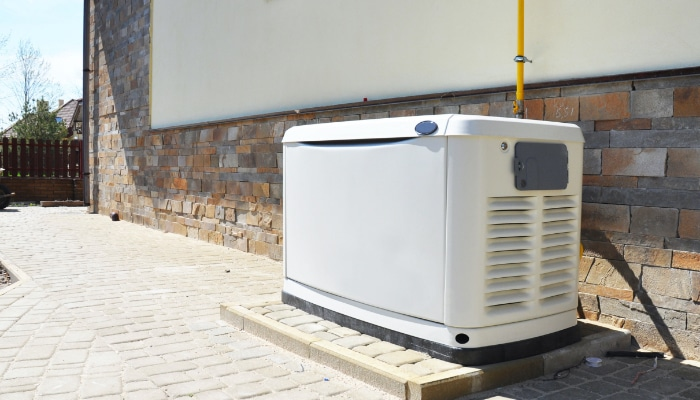 Home With Back Up Generator